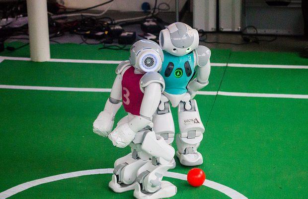 Nao Robot Soccer: Duel